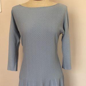 NWT Emporio Armani Blue Dress 48 Large